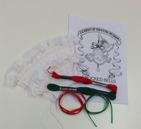Smocked Christmas Bells kit