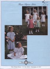 Basic Square Yoke Smocked Dress Pattern by Chery Williams