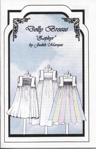 Dolly Breeze Smocking Pattern by Judith Marquis