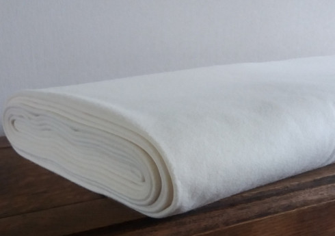 A beautiful soft Italian Cashmere and Wool Fabric in Cream, Ideal for little jackets or baby blankets 20% Cashmere 65% Wool 15% Nylon, 150cm wide weight 430, Sold per metre, Dry Clean only