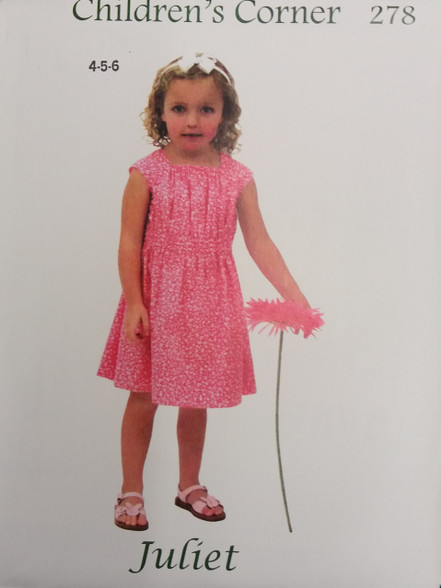 Juliet Sewing Pattern by Children's Corner
