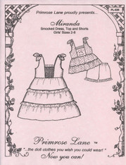 Smocking Pattern Miranda by Primrose Lane