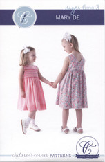 New Mary De Smocking Pattern by Children's Corner size 6 month - 3 years, please order 'H' dots separately if required