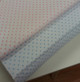 Swiss Plumetis 100% cotton in White with a Pink dot or White with a blue dot 140 cm wide priced per metre