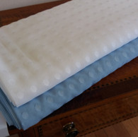 Swiss Etoile 100% Cotton in Blue or White 138 cm wide - limited availablity
