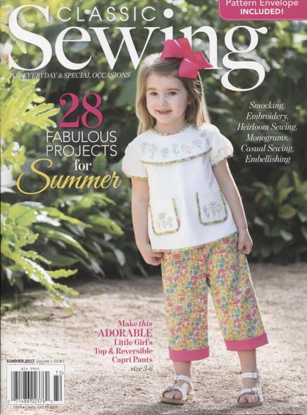 Classic Sewing Magazine Summer 2017