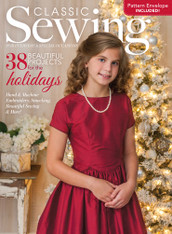 Classic Sewing Magazine Holiday 2017