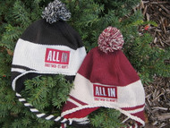 All in Winter String Hat
