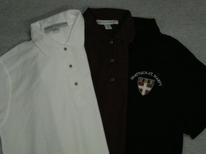Uniform polo shirts.  ON SALE  through July 29th.