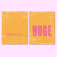 Dream Huge - Set of 2