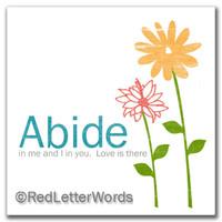 Abide - Cards