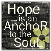 Hope Is An Anchor To The Soul - Cards