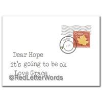 Letter Hope Ok
