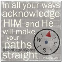 Proverbs 3:6 - Boys