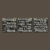 Psalm 1 - Set of 3