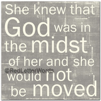 She Knew ... Midst - 5x5 Cafe Mount