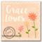 Peach w/ Flowers