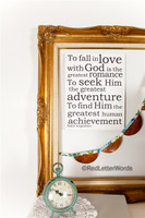To Fall in Love - Saint Augustine