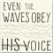 Creamy White w/ Denim Waves