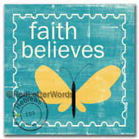 Stamp Faith - 5x5 Cafe Mount