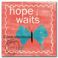 Stamp Hope - 5x5 Cafe Mount