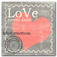 Stamp Love - 5x5 Cafe Mount