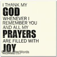 Philippians 1 3-4