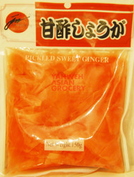 JUN PACIFIC PICKLED SWEET GINGER 100G