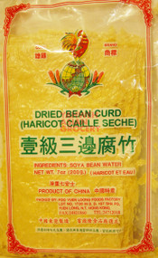 COCKBRAND DRIED BEAN CURD SHEETS 200G