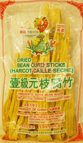 COCK BRAND DRIED BEAN CURD STICKS 200G