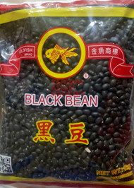 GOLD FISH BLK BEAN 1KG
