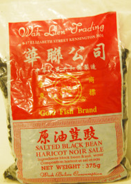 GOLD FISH SALTED BLACK BEANS 375G