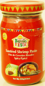 BARRIO FIESTA SHRIMP PASTE SPICY 250G