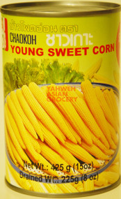 CHAOKOH YOUNG SWEET CORN 425G