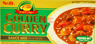 S&B GOLDEN CURRY (MEDIUM HOT) 240G