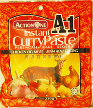 ACTIONONE A1 CURRY PASTE CHICKEN 230G