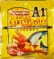 ACTIONONE A1 CURRY PASTE FISH 230G