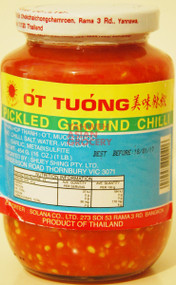 SUN BRAND PICKLED GROUND CHILLI 454G