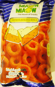 MIAOW MIAOW CHEESE RINGS 60G
