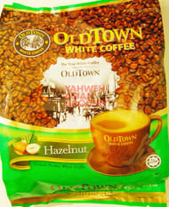 OLDTOWN 3-IN-1 WHITE COFFEE (HAZELNUT)