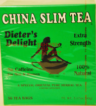 CHINA SLIM TEA 36 TEABAGS 90G