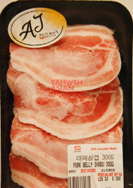 AJ PORK BELLY SHABU 300G