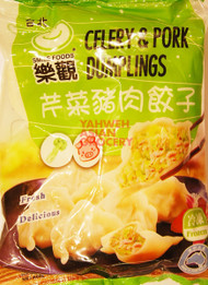 O'SMILE CELERY & PORK DUMPLINGS 600G