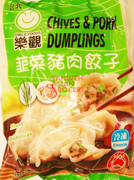 O'SMILE CHIVES & PORK DUMPLINGS 600G