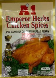 A1 EMPEROR HERBS CHICKEN SPICES 20G