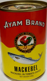 AYAM MACKEREL IN TOMATO SCE 425G