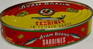 AYAM SARDINES IN TOMATO SCE (LARGE) 425G