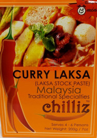 CHILLIZ CURRY LAKSA 200G