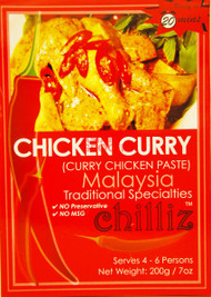 CHILLIZ CHICKEN CURRY 200G