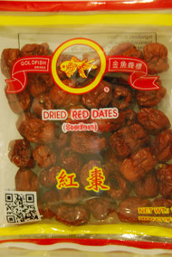 GOLDFISH DRIED RED DATES SEEDLESS 130G